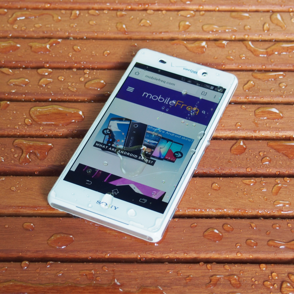 Sony Z3v mobileFreq review