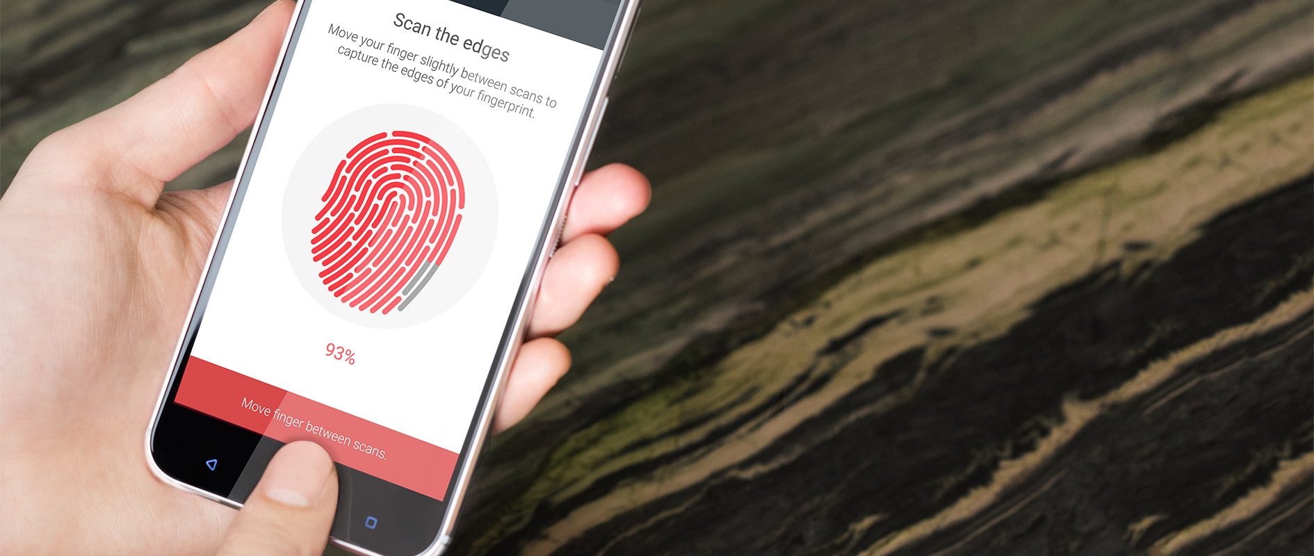 HTC 10 fingerprint scanner